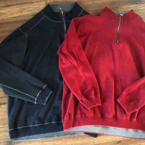 Other - Two Reversible Pullovers XL